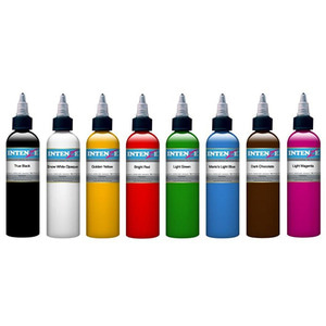 INTENZE TATTOO INK 8 COLOR SET